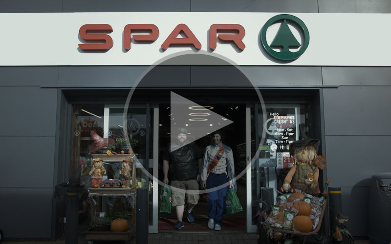 Spar NI - Halloween Social Video